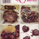 Simplicity Crafts 7226 Rag Roses and Ribbon Accessories