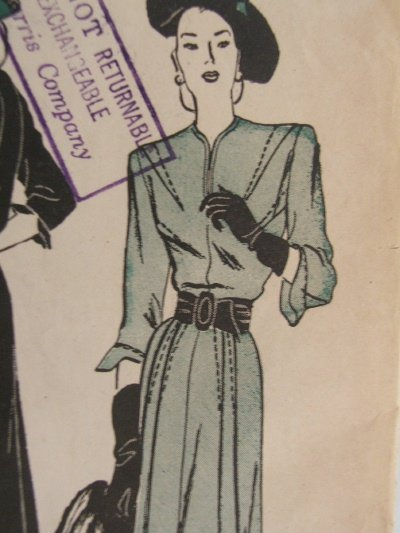 Vintage Butterick #4301-S Pattern - Casual One Piece Dress Petite Sz 14