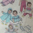 "Vintage 1950's Simplicity #3669 20"" Betsy Wetsy Baby Doll Wardrobe Pattern"