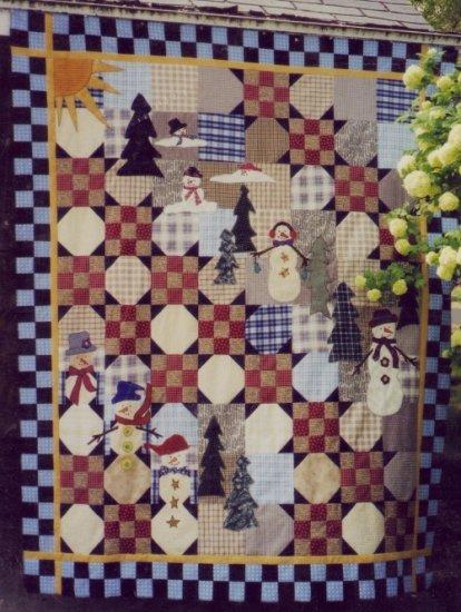 Christmas Quilt Pattern ~ Season of Snowmen