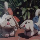Krafdee & Co Patterns - Scraps & Snippers Cute Stuffed Dogs