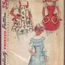 Authenitc Vintage Out of Print Simplicity #1359 Apron Pattern