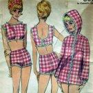 Vintage 1960's Butterick #3131 Young Junior Swim Suit Pattern
