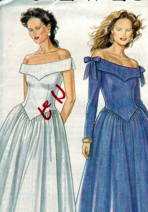 Newlook #6486 Drop Shoulder Dress Pattern sz 6-18