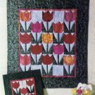 Quilt Pattern ~ Tiny Tulips Miniature Quilt