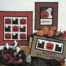 Quilt Pattern ~ Debbie Mumm  Halloween Themed Wallhangings