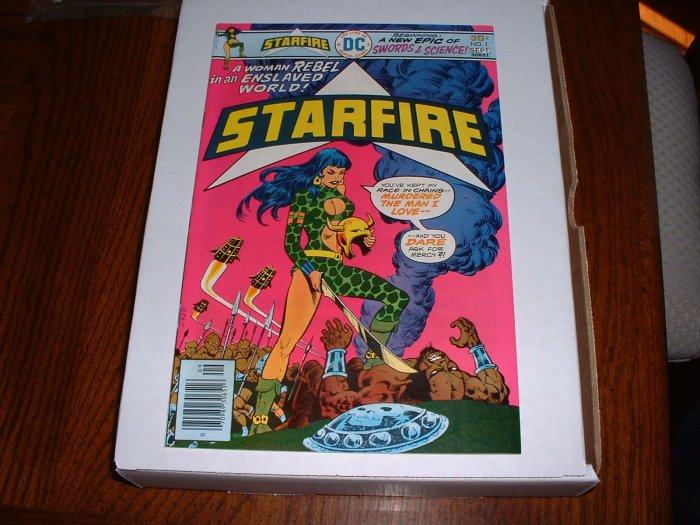 STARFIRE # 1..NM-..(9.2)..1976 DC comic book-r