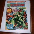 MARVEL  PRESENTS # 1..(origin Bloodstone).VF..(8.0).1975-cb