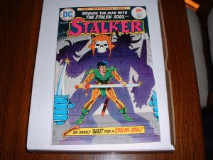 STALKER # 1..NM-..(9.2)...1975 DC comic book-Ditko+Wood-ex