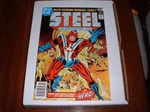 STEEL, INDESTRUCTIBLE MAN # 1..NM- (9.2)..1978 DC comic-h