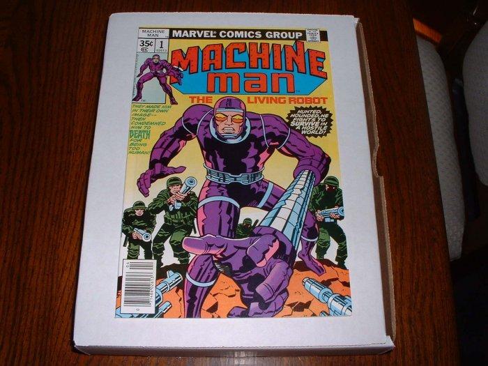 MACHINE  MAN # 1..NM-..(9.2)..1978  Marvel comic book-Kirby-de