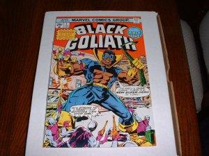 BLACK  GOLIATH # 1...VF..(8.0)..1976 Marvel comic book-ce