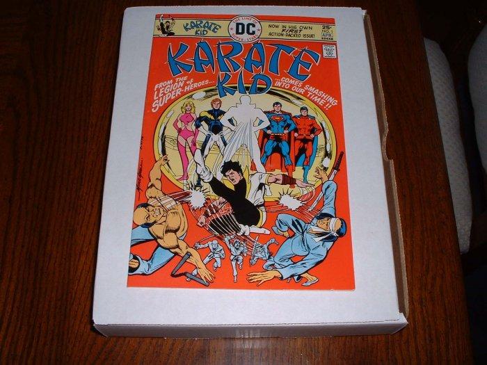 KARATE  KID # 1..F-VF..(7.0)..1976 DC comic book-bx