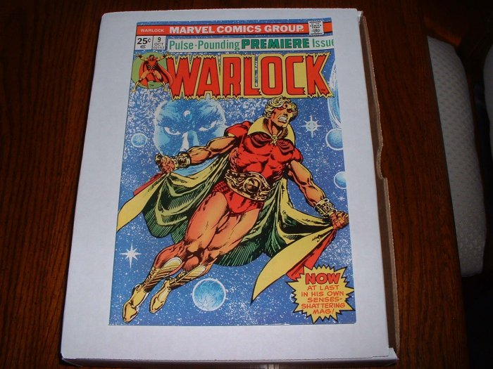 WARLOCK # 9 (1st)..VF..(8.0)..1975 Marvel comic book-B