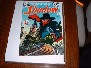 SHADOW # 1..VF..(8.0)..1973 DC comic book-Kaluta art-B