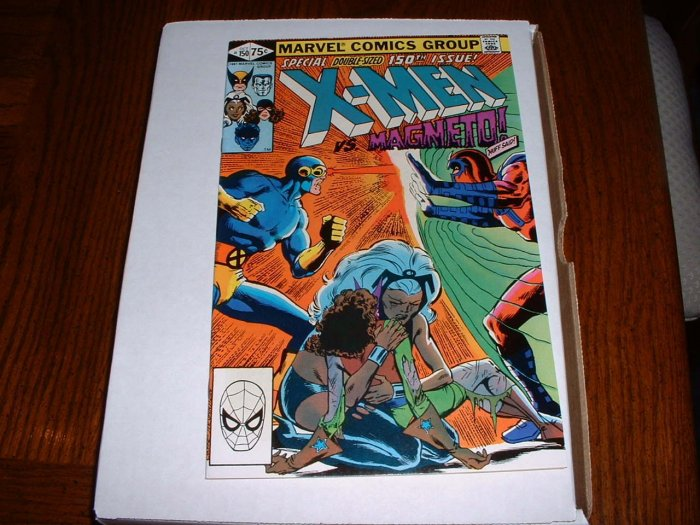 X-MEN # 150...(9.4) NM ..1981 giant Marvel comic book-r