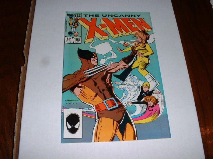 X-MEN # 195...(9.4)..NM ...1985 Marvel comic book-e