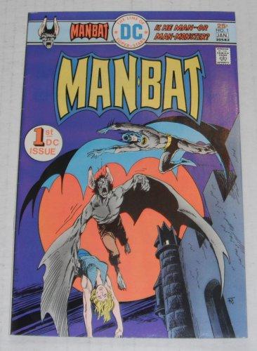 MAN-BAT # 1..FINE-VF..(7.0)..1976 DC comic book-e