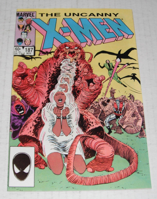 X-MEN # 187...(9.4)..NM ..1984 Marvel comic book-e