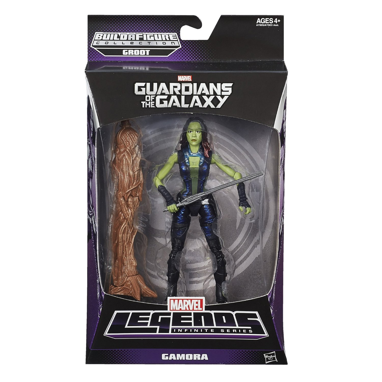 Marvel Guardians of The Galaxy Gamora Figure, 6-Inch