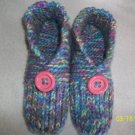 Women's Handknitted Slippers-Pastel Colors