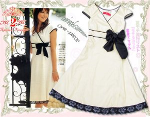 White Cotton Elegent  Dress