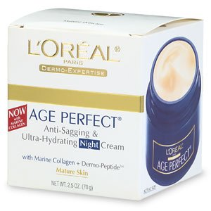 L'Oreal Dermo-Expertise Age Perfect Night Cream for Mature Skin