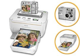 Kodak EASYSHARE C743 Digital Camera 7.1 MP 3x Zoom and G600 Printer Dock Bundle