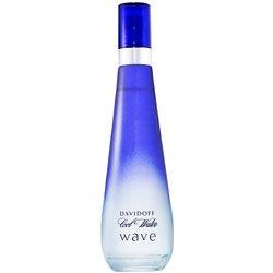 COOL WATER WAVE For Women By DAVIDOFF Eau de Toilette Spray 3.40 oz