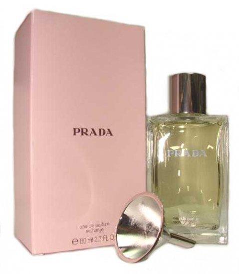 Prada by Prada for Women 2.7 oz Eau de Parfum Recharge