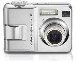 Kodak EASYSHARE C533 Digital Camera 5.0 MP, 3X Zoom + Camera Dock Series 3 BRAND NEW