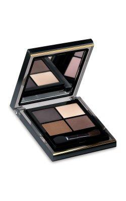 Elizabeth Arden Color Intrigue Eyeshadow Quad: Sueded Browns