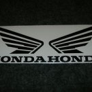 HONDA CB CBR CBRR CR XL XR  FUEL TANK  WING DECALS BLK5