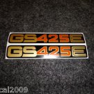 SUZUKI 1979 GS-425E GS425E SIDE COVER DECAL