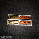 SUZUKI 1977 1978 GS-400 GS400 SIDE COVER DECAL