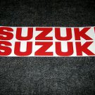 SUZUKI GSX-R GSX-F GS RM-Z DR DR-Z BELLY PAN DECALS ReD12/13/16