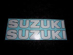 SUZUKI GSX-R GSX-F KATANA BANDIT GS RM-Z DS DR SP TS  DECALS WHITE BLACK TRIM190