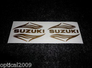 SUZUKI SAVAGE INTRUDER VS-750GLPM VS-1400GLPS TANK DECALS GOLD7350