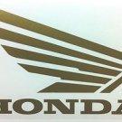 HONDA CB CBR CBRR 919 929 954 996 CR XL XR SHADOW  FUEL TANK  WING DECALS GLD338