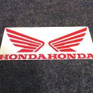 HONDA 919 929 954 996 CB CBR CBRR CR XL XR SHADOW FUEL TANK  WING DECAL RED425
