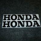 HONDA CB CL CJ CBR CBR-RR CR MR MT SL XL XR CIVIC FUEL TANK DECALS BLACK812