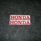 HONDA CR MR MT SL XL XR  FUEL TANK DECALS RED5