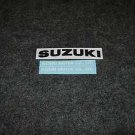 SUZUKI MOTOR CO.,LTD DECALS REAR TAIL DECAL GS550 GS750 BLK/WHT