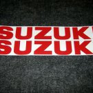 SUZUKI 9.9 BOAT MOTOR DECALS OUT BOARD DECALS SMRD834