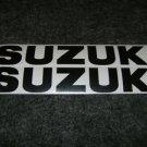 SUZUKI GSX-R GSX-F GSF KATANA GS RM-Z DR DR-Z DECALS MATTE BLACK834