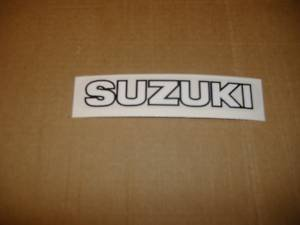 SUZUKI REAR TAIL DECAL GS450 GS650 GS750 GS850 GS1000 GS1100