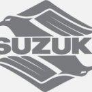 SUZUKI SAVAGE INTRUDER GSXR GSX-F KATANA BANDIT GS  DR DR-Z TANK DECALS SILVER218