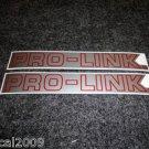 HONDA PRO-LINK TRX CR CRF XL XR TL CBRR SWING ARM DECAL RED SILVER TRIM XSM7