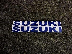 SUZUKI 9.9 BOAT MOTOR DECALS OUT BOARD DECALS SMBLU834