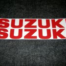 SUZUKI GSX-R GSX-F GS RM-Z DR DR-Z BELLY PAN DECALS RED15